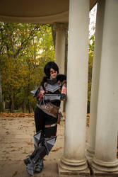 I'll just wait.. by KatharsisCosplay