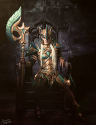 The High Queen by KatharsisCosplay