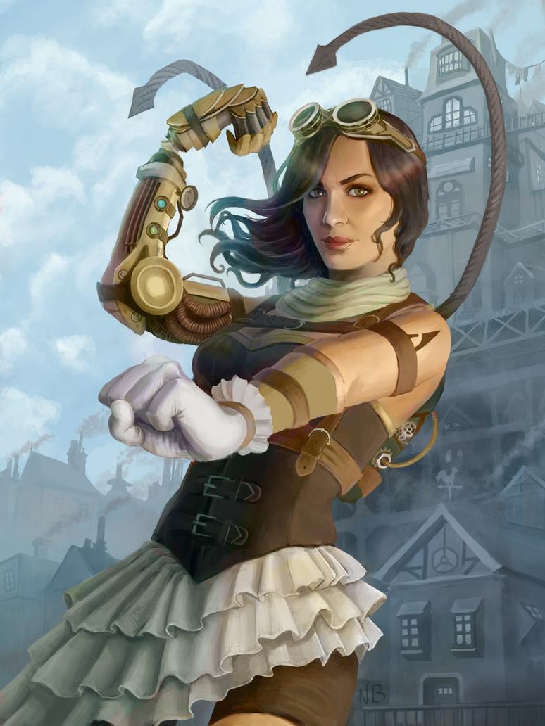 Steampunk Brawler by nataliebernard