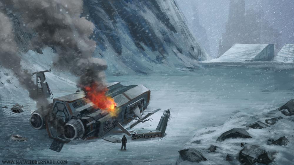 Crash Site by nataliebernard
