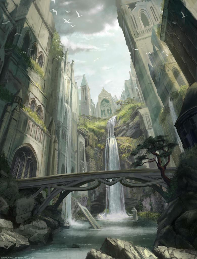 Forgotten City by nataliebernard