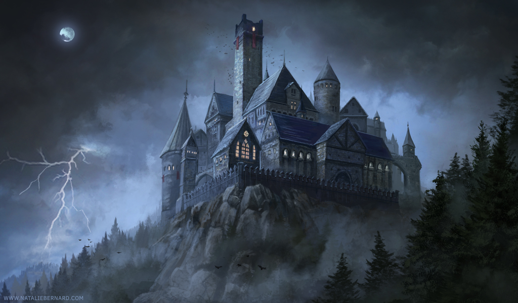 Dark Castle By Nataliebernard On Deviantart