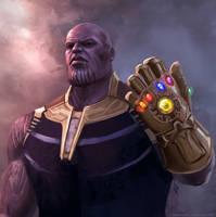 Thanos by nataliebernard