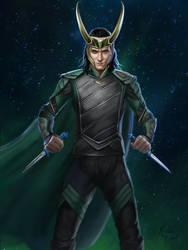 Loki by nataliebernard