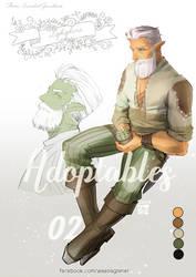 [Open] Adoptables : Lophophora by Waenaglariel