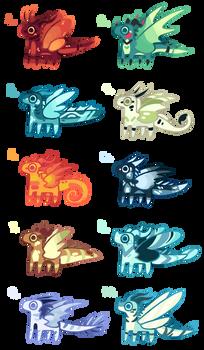 BTA WOF Dragon Adopts ( 8/10 open! )