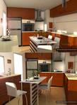kitchen by Cinema 4D