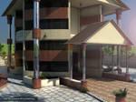 new villa design C4D