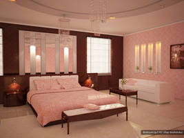 VRay render bedroom C4D 2 by ibrahim-ksa