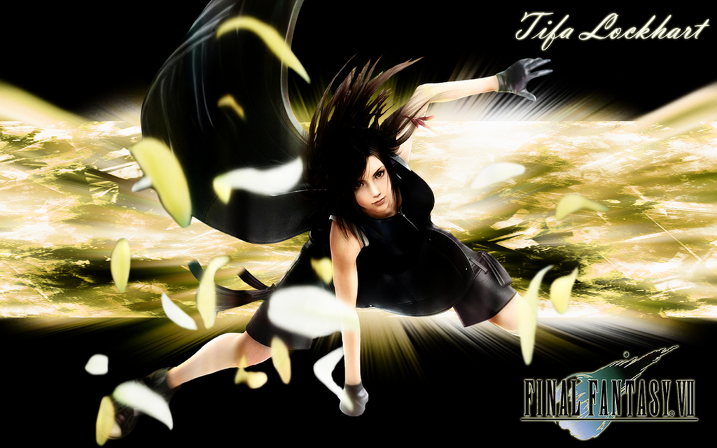 Tifa Wallpaper By CrossDominatriX5