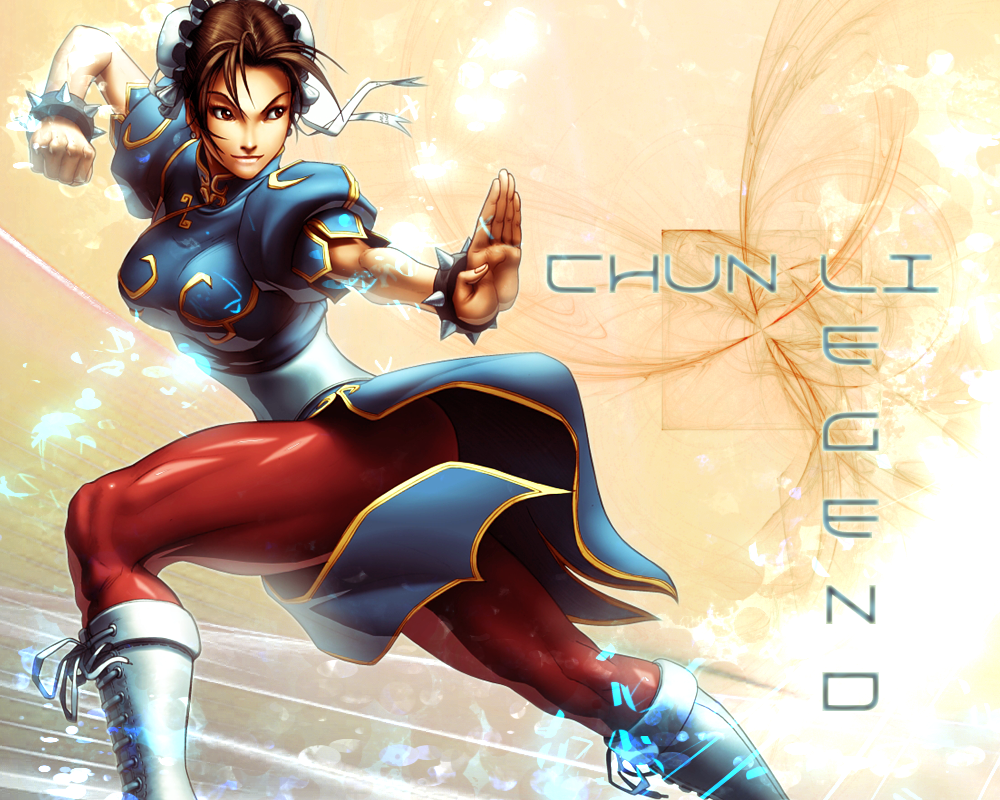 Chun Li Wallpaper 5 By Crossdominatrix5 On Deviantart