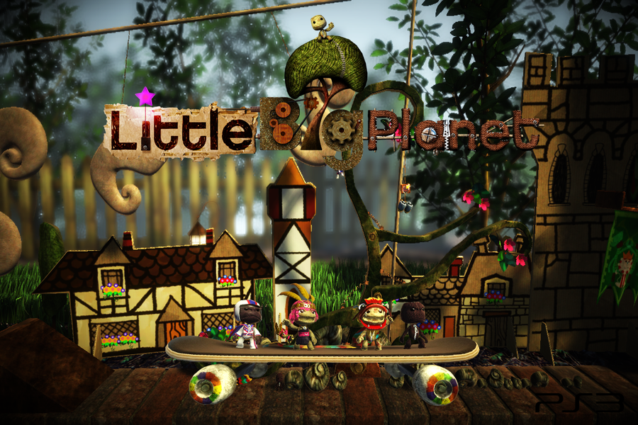 little big planet wallpaper by crossdominatrix5 on deviantart