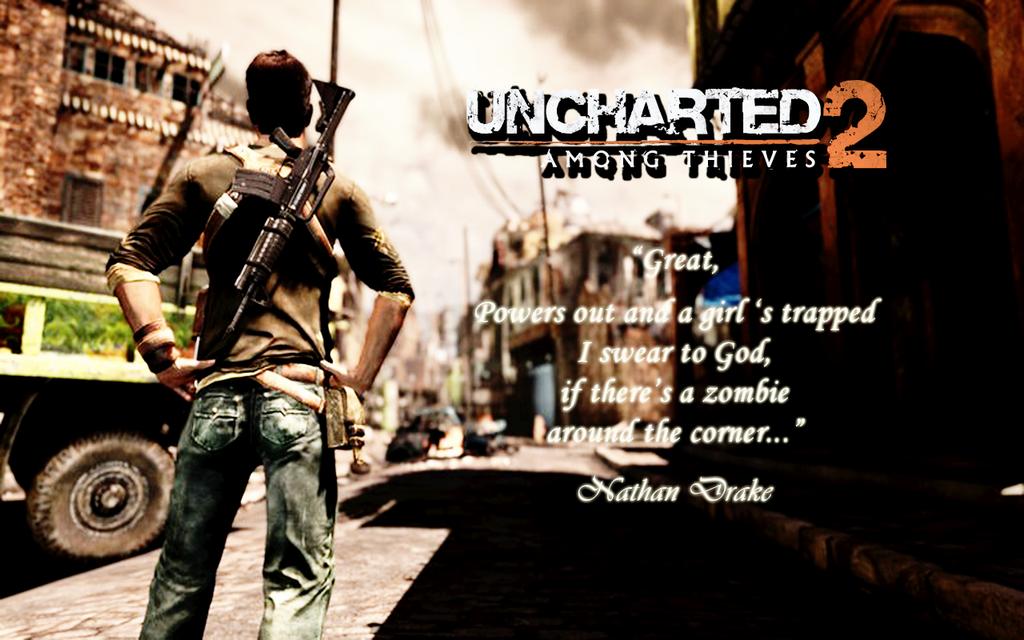 Uncharted 2 Wallpaper By CrossDominatriX5