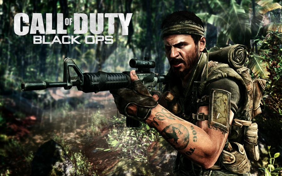 Call Of Duty Black Ops Wall 1 By CrossDominatriX5 On DeviantArt