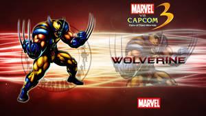 Marvel VS Capcom 3 Wolverine