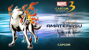 Marvel VS Capcom 3 Amaterasu by CrossDominatriX5