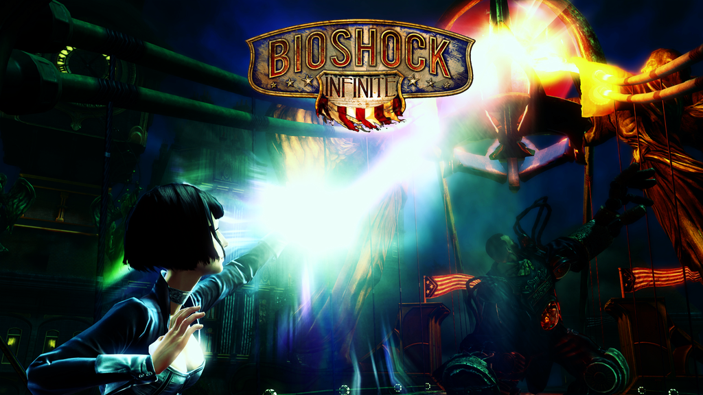 Bioshock Infinite Wallpaper by CrossDominatriX5