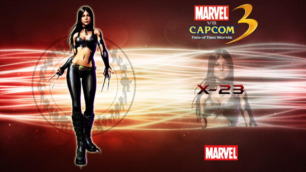 Gallery X23 Marvel Vs Capcom 3 X 23 Marvel