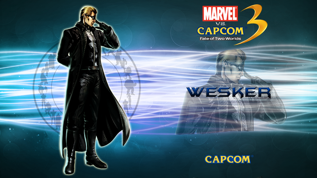 marvel vs capcom 3 wallpaper. Marvel VS Capcom 3 Wesker by