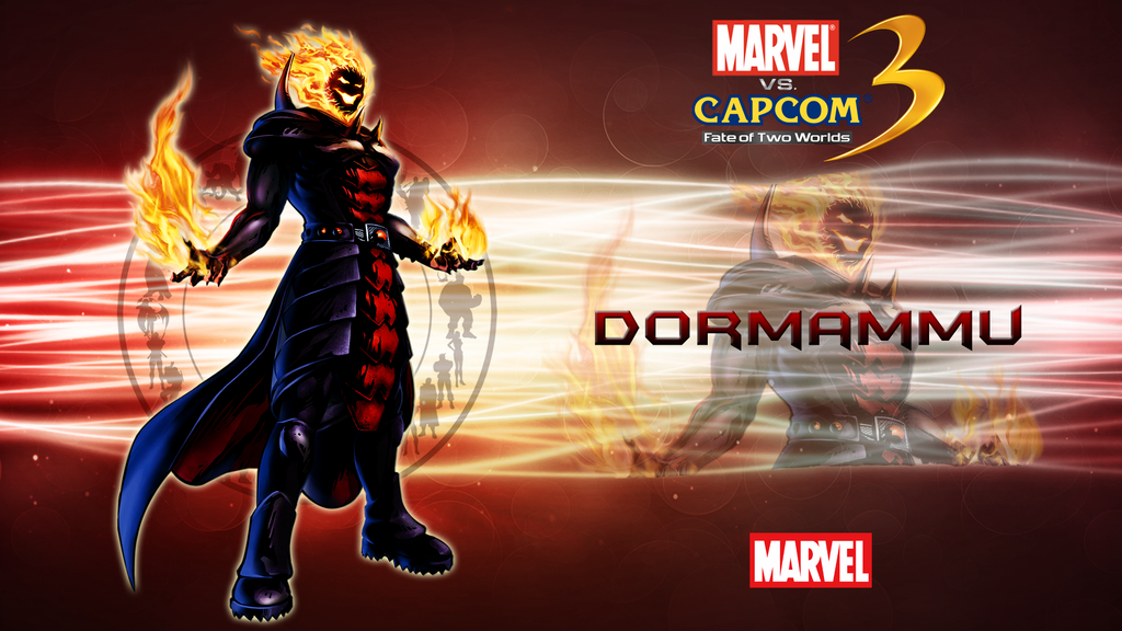 marvel vs capcom 3 wallpaper. Marvel VS Capcom 3 Dormammu by
