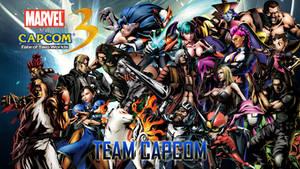 Marvel VS Capcom 3 Team Capcom by CrossDominatriX5