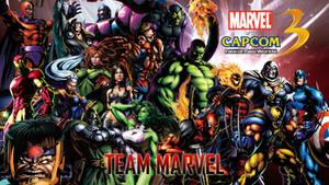 Marvel VS Capcom 3 Team Marvel by CrossDominatriX5