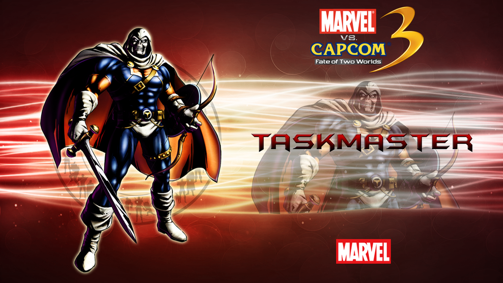 marvel vs capcom 3 wallpaper. Marvel VS Capcom 3 Taskmaster