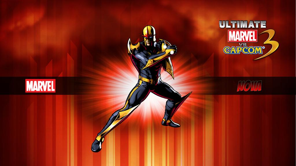 Ultimate MvC3 Nova By CrossDominatriX5