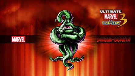 Ultimate MvC3 Shuma Gorath by CrossDominatriX5