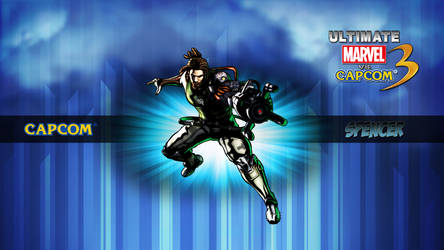 Ultimate MvC3 Spencer by CrossDominatriX5