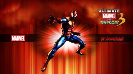 Ultimate MvC3 Spider Man by CrossDominatriX5