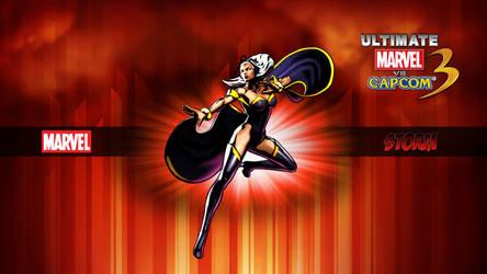 Ultimate MvC3 Storm by CrossDominatriX5