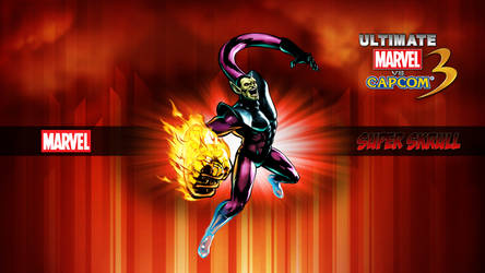 Ultimate MvC3 Super Skrull by CrossDominatriX5