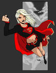 Evil Supergirl by andy-j2k