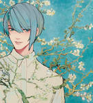 blossoming almond tree 02