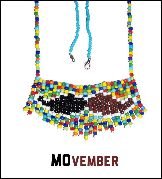 Moustache Contest Entry - Necklace by DreamON-Mpak