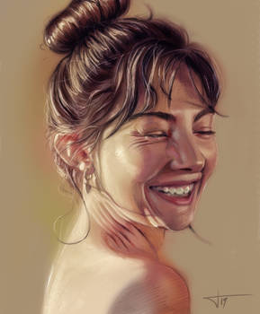 Smile (Speed Study)