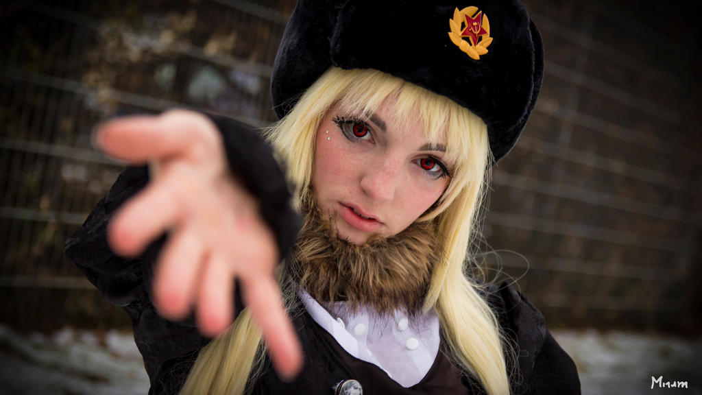 Hetalia: 2p!fem! Russia by RussiaPrincess