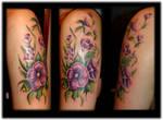Flower arm done