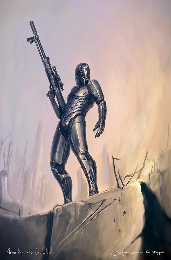 Amun'Raan vas Goliath by Sabrus