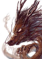 Dragon by bome830