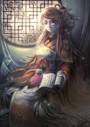 Li Qingzhao by bome830