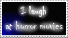 Horror movies stamp by BluefireStamps