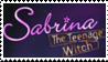 Sabrina stamp by BluefireStamps