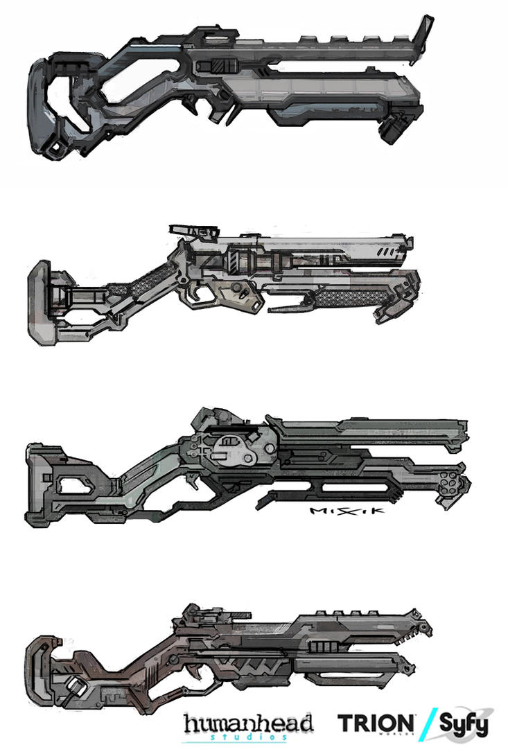Alien Charge Shotgun by chrislazzer