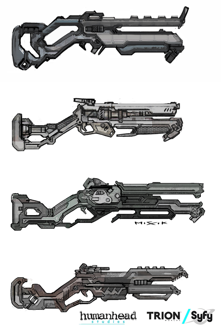 Alien Charge Shotgun by chrislazzer