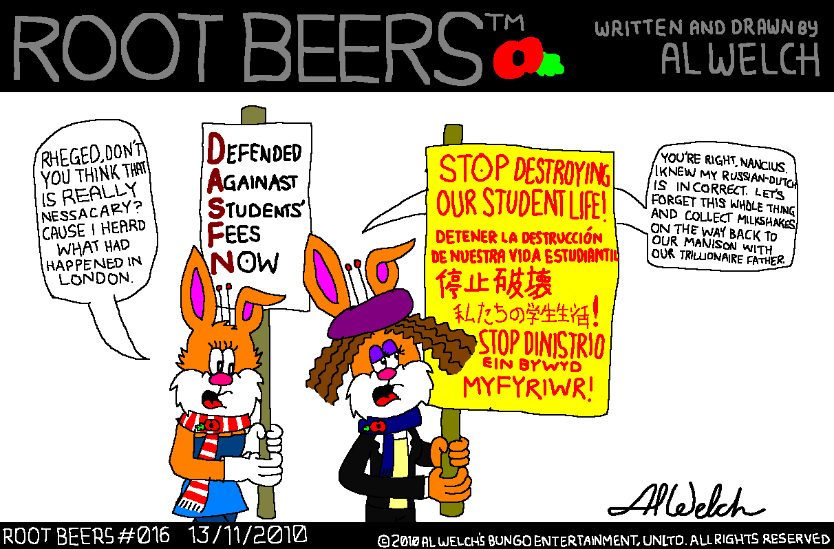 Root Beers 016 - Protesting..?