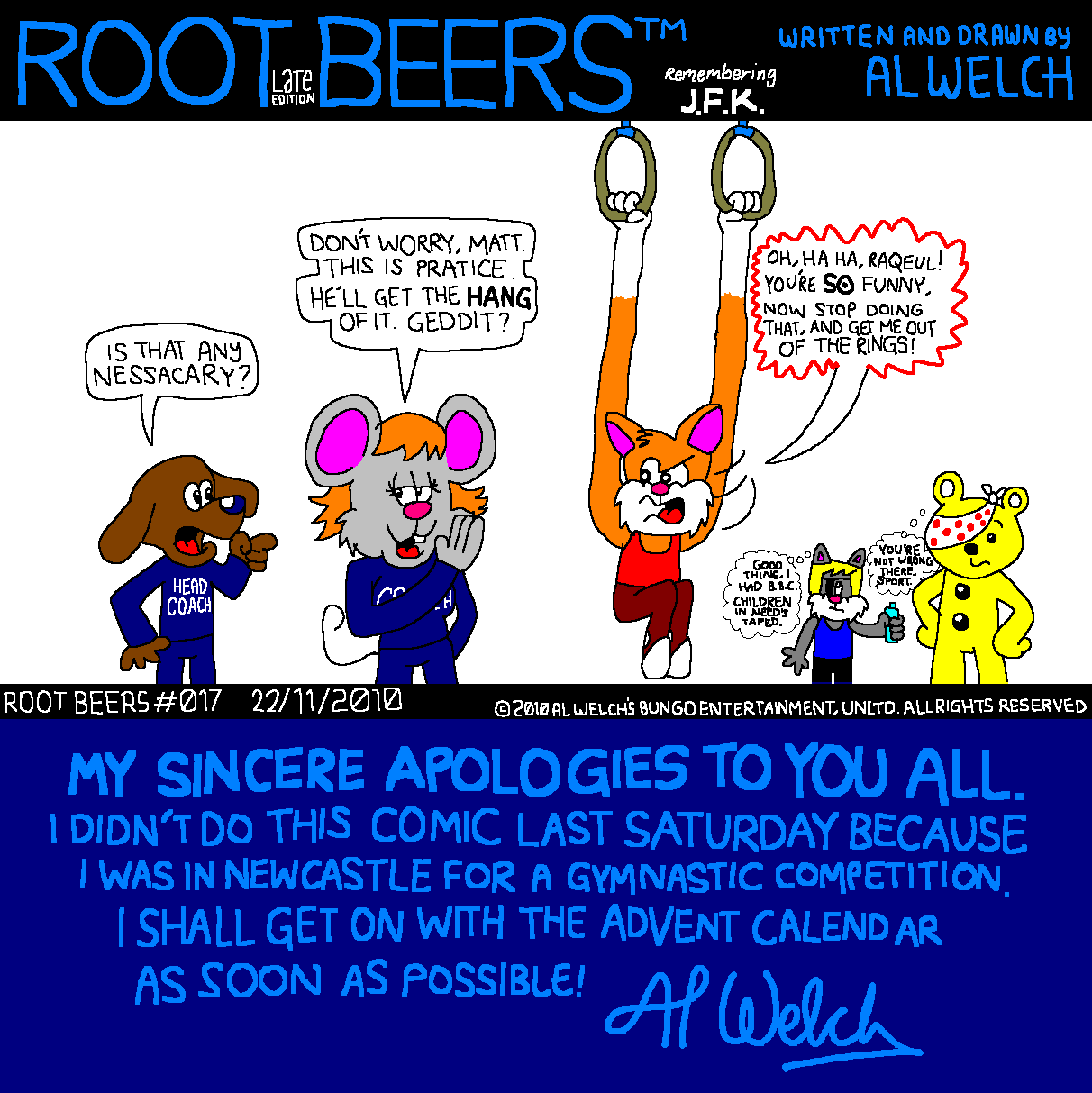 Root Beers 017 - Hang About...