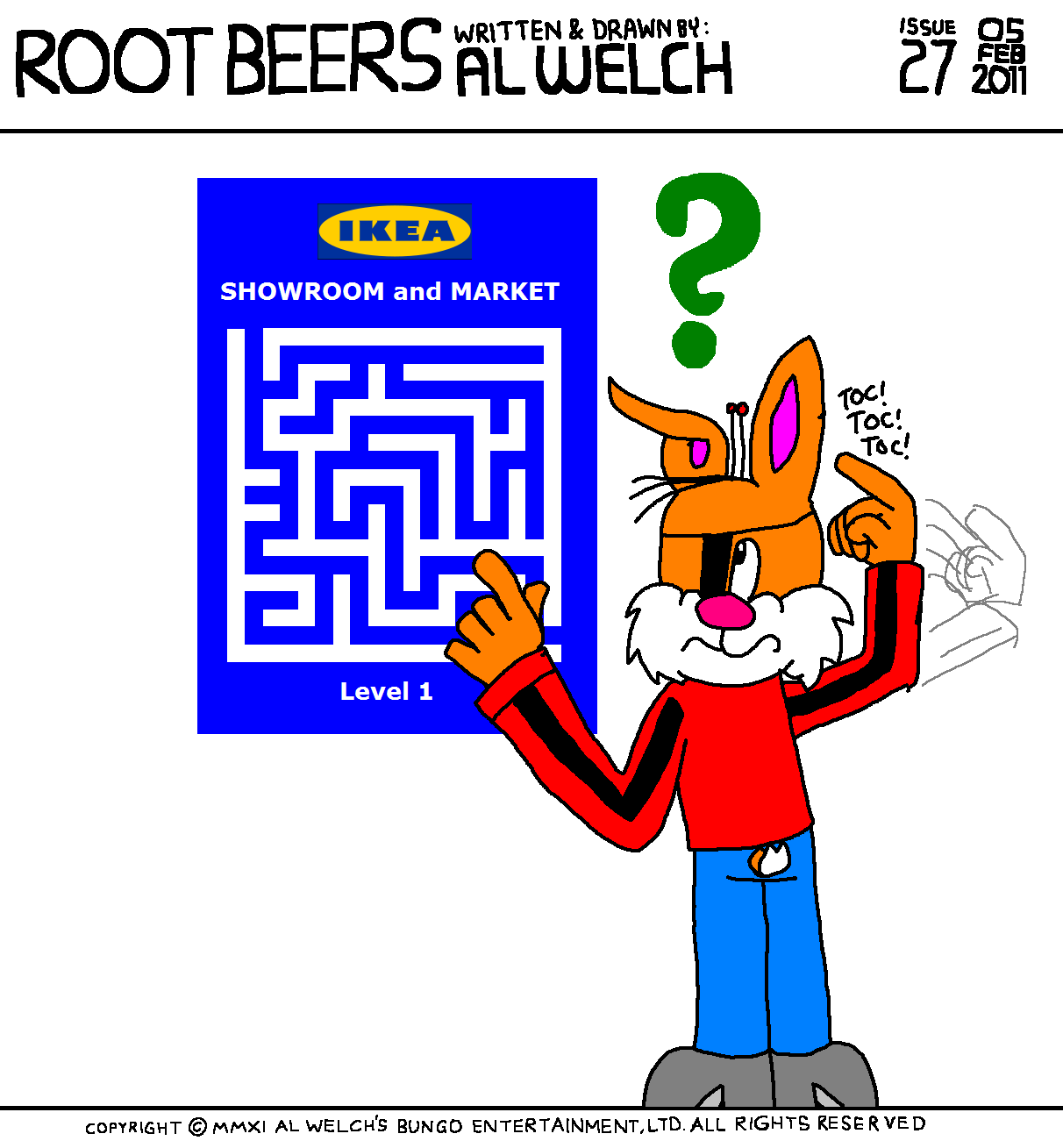 Root Beers 027 - Lost in Ikea?