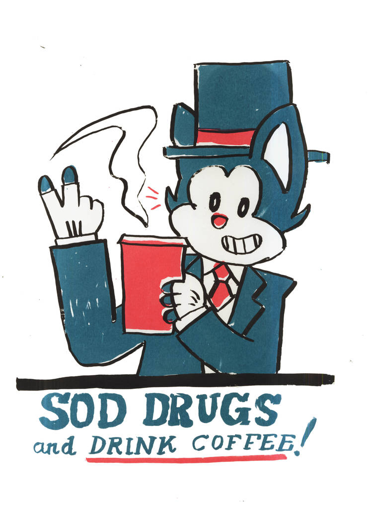 And Now... a Anti-Drugs PSA with a dash of milk...